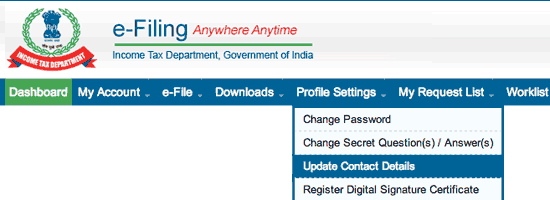 Income Tax: Login Problem due to PIN number through email or Mobile Number
