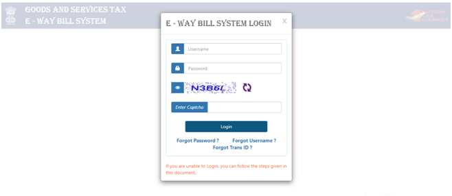 How to generate E-way Bill